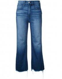 3x1 - Cropped Flared Jeans - Women - Cotton/spandex/elastane - 30 afbeelding