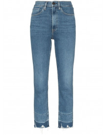 3x1 Cropped Jeans - Blauw afbeelding
