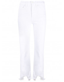 3x1 Cropped Jeans - Wit afbeelding