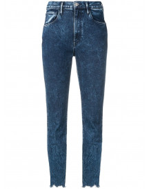 3x1 Cropped Skinny Jeans - Blauw afbeelding