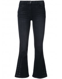3x1 - Flared Cropped Jeans - Women - Cotton/spandex/elastane - 24 afbeelding