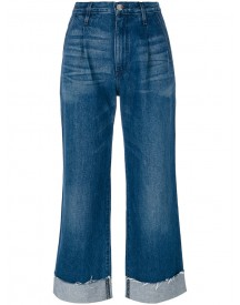 3x1 - High-rise Flared Jeans - Women - Cotton - 28 afbeelding