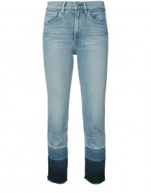 3x1 - Shelter Cropped Jeans - Women - Cotton/polyester/spandex/elastane - 29 afbeelding