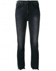 3x1 - Straight Crop Jeans - Women - Cotton/elastodiene/spandex/elastane - 28 afbeelding