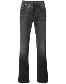 7 For All Mankind - Airweft Straight-leg Jeans - Men - Cotton/polyester/spandex/elastane - 34 afbeelding