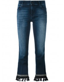 7 For All Mankind - Bootcut Cropped Jeans - Women - Cotton/polyester/spandex/elastane - 29 afbeelding