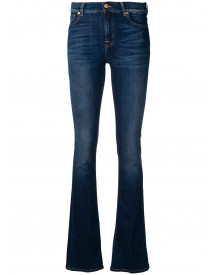 7 For All Mankind Bootcut Jeans - Blauw afbeelding