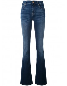 7 For All Mankind - Bootcut Jeans - Women - Cotton/polyester/spandex/elastane/lyocell - 30 afbeelding