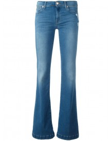 7 For All Mankind - Charlize Jeans - Women - Cotton/polyester/spandex/elastane/modal - 28 afbeelding