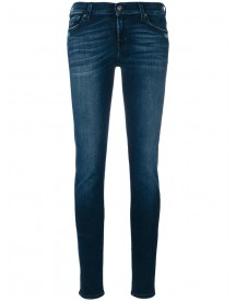 7 For All Mankind - Classic Skinny Jeans - Women - Cotton/polyester/spandex/elastane - 29 afbeelding