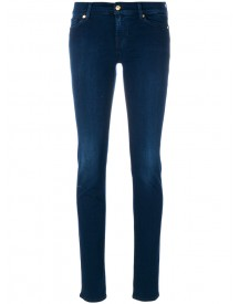 7 For All Mankind - Classic Skinny Jeans - Women - Cotton/polyester/spandex/elastane/modal - 29 afbeelding