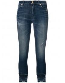 7 For All Mankind - Cropped Jeans - Women - Cotton/spandex/elastane - 31 afbeelding