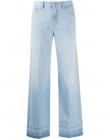 7 For All Mankind Flared Jeans - Blauw afbeelding