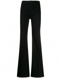7 For All Mankind Flared Jeans - Zwart afbeelding