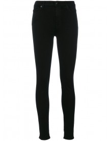 7 For All Mankind - High-waisted Skinny Jeans - Women - Cotton/polyester/spandex/elastane/modal - 25 afbeelding