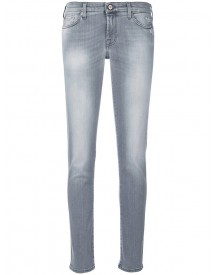 7 For All Mankind - Light-wash Skinny Jeans - Women - Cotton/elastodiene/spandex/elastane - 29 afbeelding