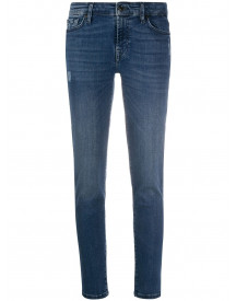 7 For All Mankind Low Waist Jeans - Blauw afbeelding