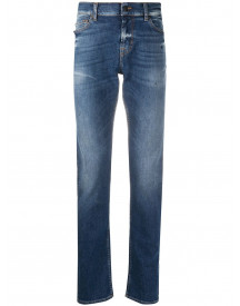 7 For All Mankind Skinny Jeans - Blauw afbeelding