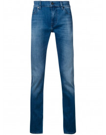 7 For All Mankind Ronnie Skinny Jeans - Blauw afbeelding