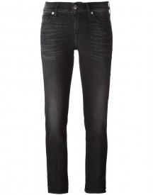 7 For All Mankind - 'roxanne' Skinny Jeans - Women - Cotton/polyester/spandex/elastane - 26 afbeelding
