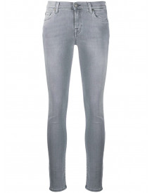 7 For All Mankind Skinny Jeans - Grijs afbeelding
