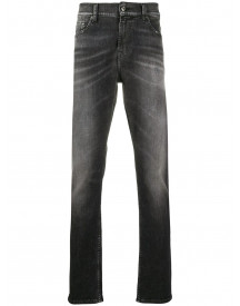 7 For All Mankind Skinny Jeans - Zwart afbeelding