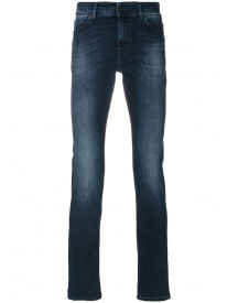 7 For All Mankind - Slim Fit Denim Jeans - Men - Cotton/polyester/spandex/elastane - 29 afbeelding