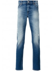 7 For All Mankind - Slim-fit Jeans - Men - Cotton/spandex/elastane - 34 afbeelding