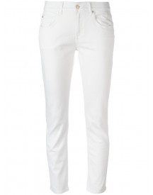 7 For All Mankind - Straight-leg Jeans - Women - Cotton/polyester/spandex/elastane - 27 afbeelding