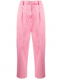 8pm High Waist Jeans - Roze afbeelding