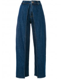 Aalto - High Waisted Flared Jeans - Women - Cotton - 34 afbeelding