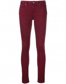 Acne Studios Climb Stretch Jeans - Rood afbeelding