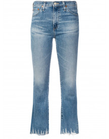 Ag Jeans Cropped Jeans - Blauw afbeelding