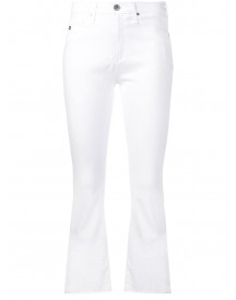 Ag Jeans Cropped Jeans - Wit afbeelding