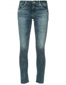Ag Jeans - Cropped Skinny Jeans - Women - Cotton/polyurethane - 25 afbeelding