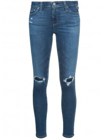 Ag Jeans - Distressed Skinny Jeans - Women - Cotton/polyethylene - 26 afbeelding