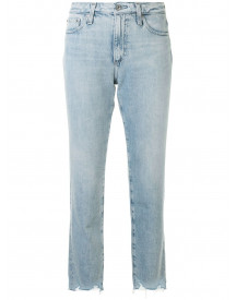 Ag Jeans High Waist Jeans - Blauw afbeelding