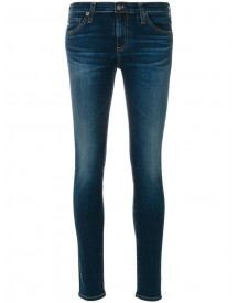 Ag Jeans - Washed Skinny Jeans - Women - Cotton/polyurethane - 26 afbeelding