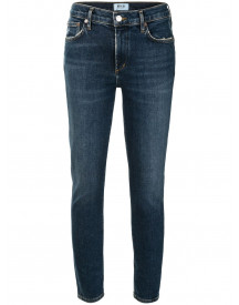 Agolde Cabana Skinny Jeans - Blauw afbeelding