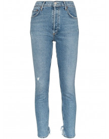 Agolde Cropped Jeans - Blauw afbeelding