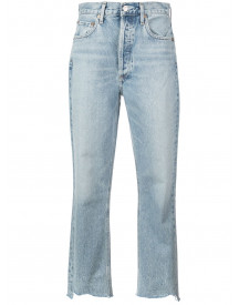 Agolde Riley Jeans - Blauw afbeelding
