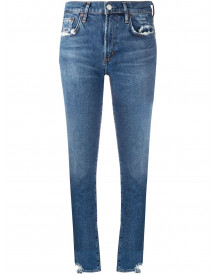 Agolde Skinny Jeans - Blauw afbeelding