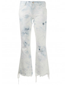 Alanui Straight Jeans - Wit afbeelding