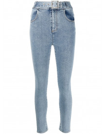 Alessandra Rich Skinny Jeans - Blauw afbeelding
