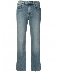 Alexa Chung Straight Jeans - Blauw afbeelding