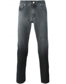 Alexander Mcqueen - Degrade Slim Fit Jeans - Men - Cotton/spandex/elastane - 52 afbeelding