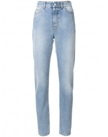 Alexander Mcqueen - High-waisted Skinny Jeans - Women - Cotton - 40 afbeelding