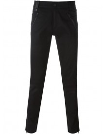 Alexander Mcqueen - Slim-fit Biker Jeans - Men - Cotton/leather/spandex/elastane - 48 afbeelding