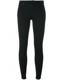 Alexander Wang - Cropped Skinny Jeans - Women - Cotton/polyester/spandex/elastane/lyocell - 26 afbeelding