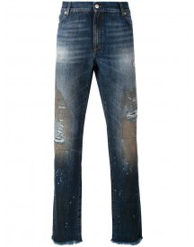 Alyx - Distressed Slim-fit Jeans - Men - Cotton - 33 afbeelding